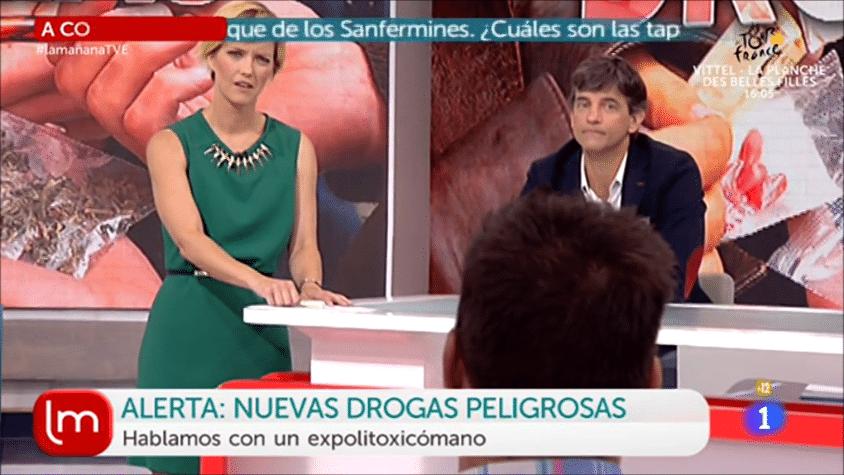 Jose Luis Martínez en La Mañana de TVE